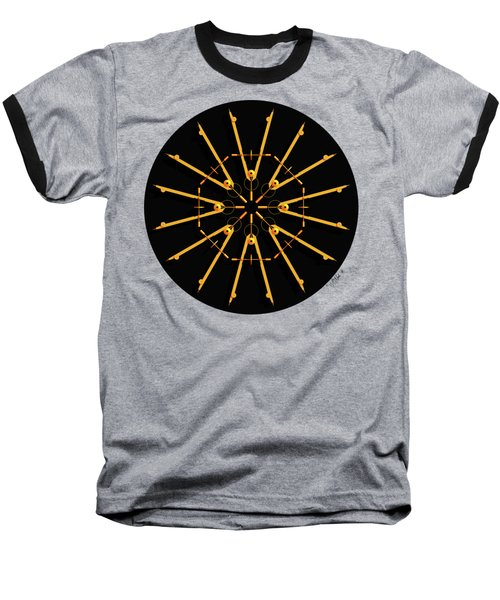 Golden Compasses Baseball T-Shirt