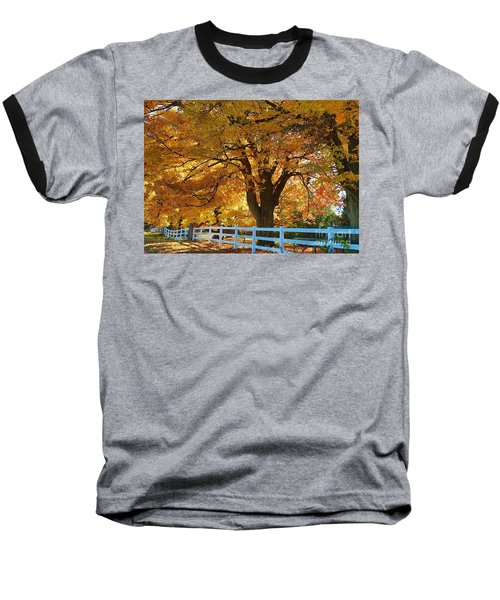 Baseball T-Shirt featuring the photograph Golden Curtain by Robert Pearson