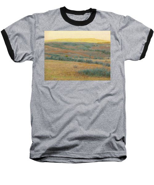 Golden Dakota Horizon Dream Baseball T-Shirt