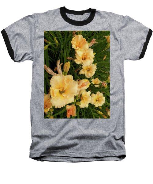 Golden Day Lilies Baseball T-Shirt
