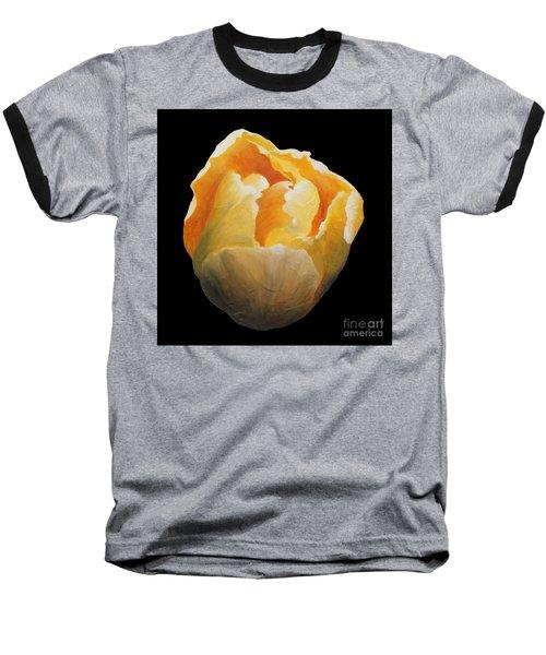 Golden Double Tulip Baseball T-Shirt