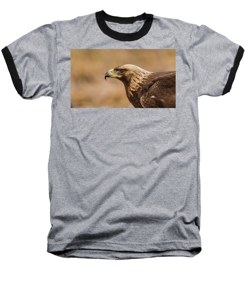 Baseball T-Shirt featuring the photograph Golden Eagle's Portrait by Torbjorn Swenelius
