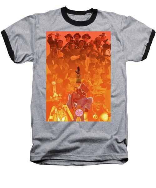 Golden Era Icons Collage 1 Baseball T-Shirt