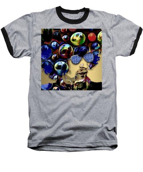 Golden Eric Clapton Baseball T-Shirt