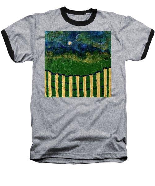 Golden Evening Baseball T-Shirt by Donna Blackhall