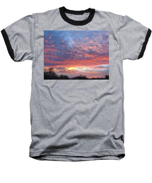 Golden Eye Landing In The Desert Baseball T-Shirt