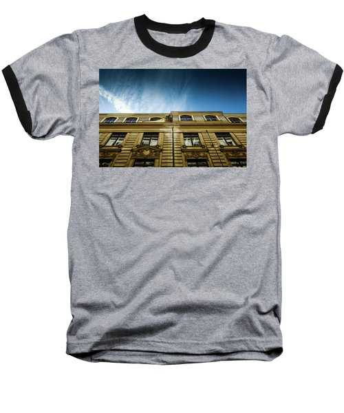 Golden Facade Baseball T-Shirt