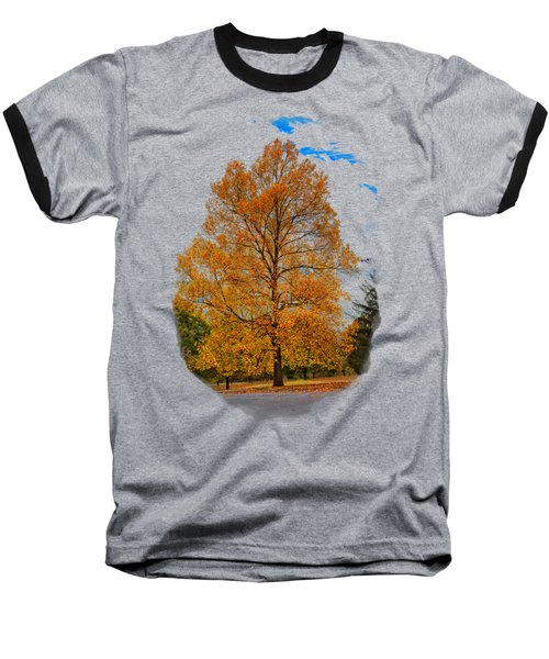 Golden Fall Colors 2 Baseball T-Shirt