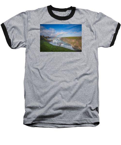 Golden Falls, Gullfoss Iceland Baseball T-Shirt