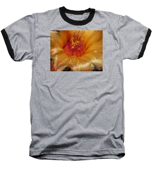 Golden Flower 1 Baseball T-Shirt