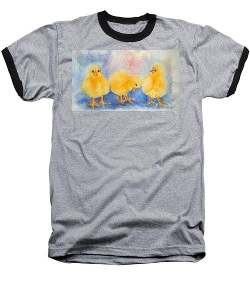 Golden Fluff Baseball T-Shirt