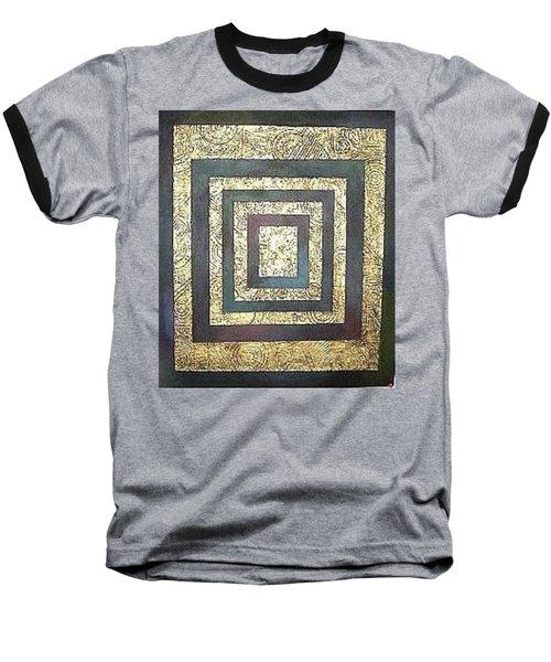 Golden Fortress Baseball T-Shirt by Bernard Goodman