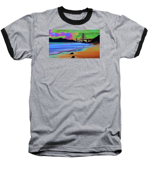 Golden Gate 2 Baseball T-Shirt