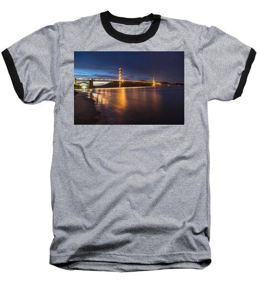 Golden Gate Blue Hour Baseball T-Shirt