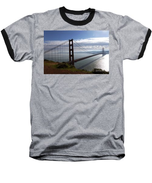 Golden Gate Bridge-2 Baseball T-Shirt