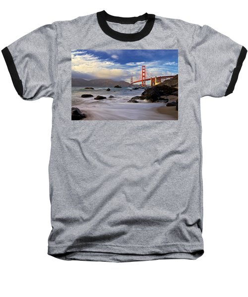 Baseball T-Shirt featuring the photograph Golden Gate Bridge by Evgeny Vasenev