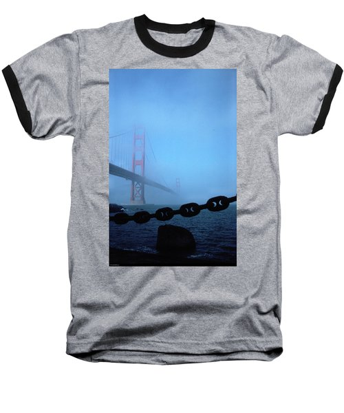 Golden Gate Bridge From Fort Point Baseball T-Shirt