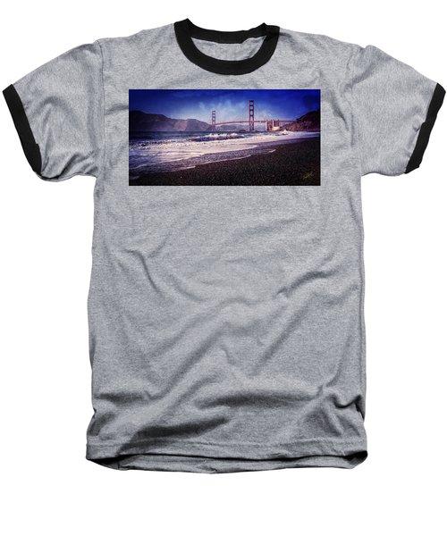 Golden Gate Baseball T-Shirt by Everet Regal