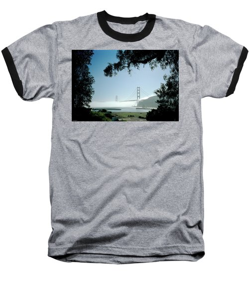 Golden Gate Fog  Baseball T-Shirt