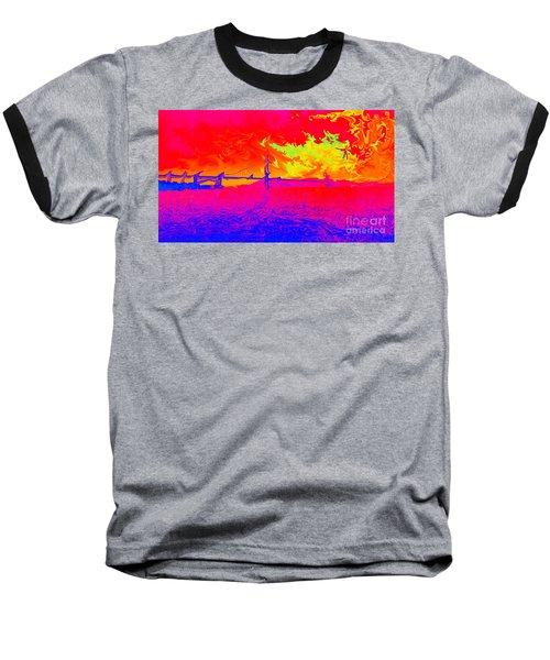 Golden Gate Mod Pop Baseball T-Shirt