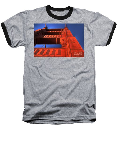 Golden Gate Tower Baseball T-Shirt