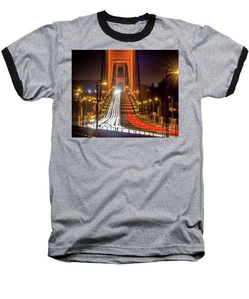 Golden Gate Traffic Baseball T-Shirt