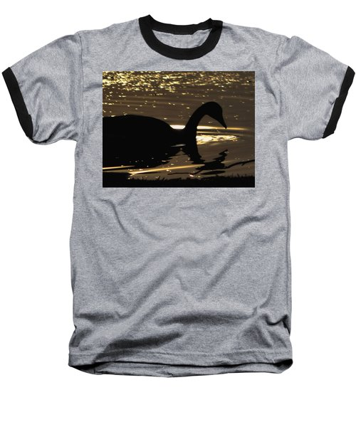 Golden Girl Baseball T-Shirt by Robert McCubbin