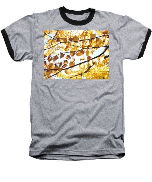 Golden Glow Baseball T-Shirt