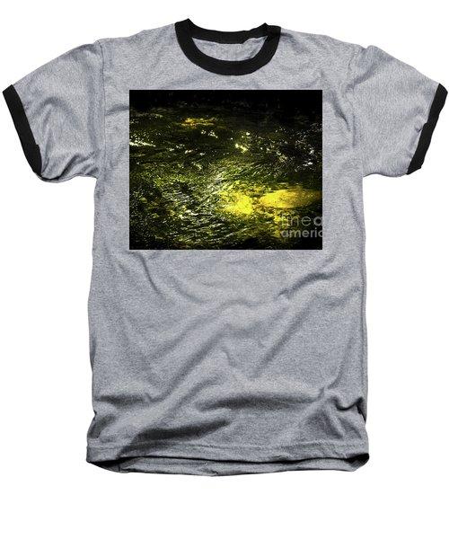 Baseball T-Shirt featuring the photograph Golden Glow by Tatsuya Atarashi