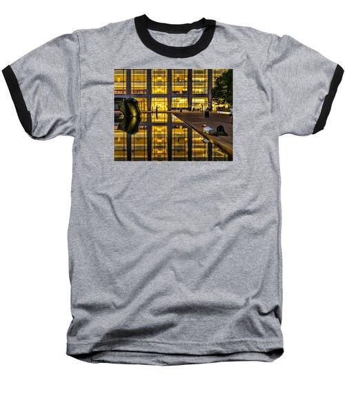 Golden Grid Baseball T-Shirt