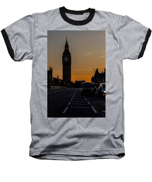 Golden Hour Big Ben In London Baseball T-Shirt