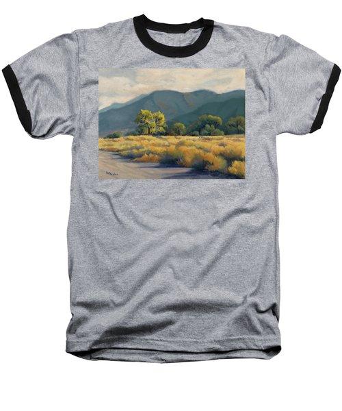 Golden Hour In Owen's Valley Baseball T-Shirt