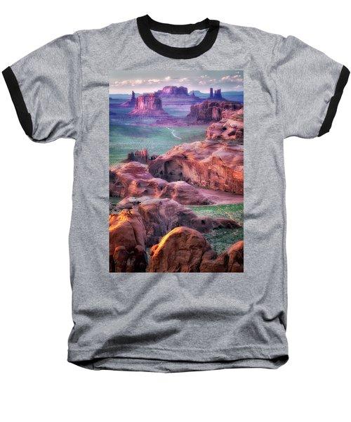 Golden Hour  Baseball T-Shirt by Nicki Frates