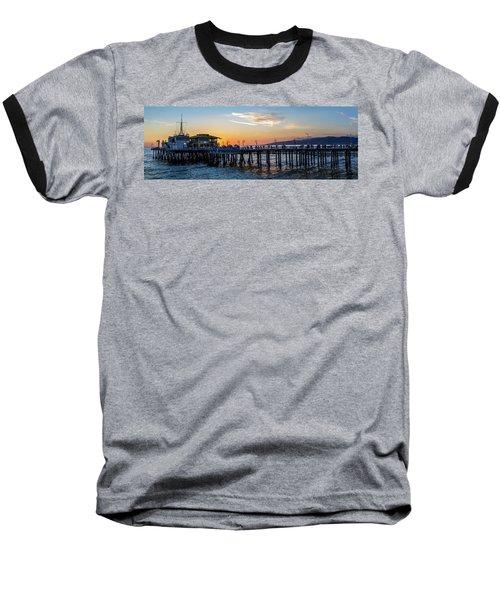 Golden Hour - Panorama Baseball T-Shirt