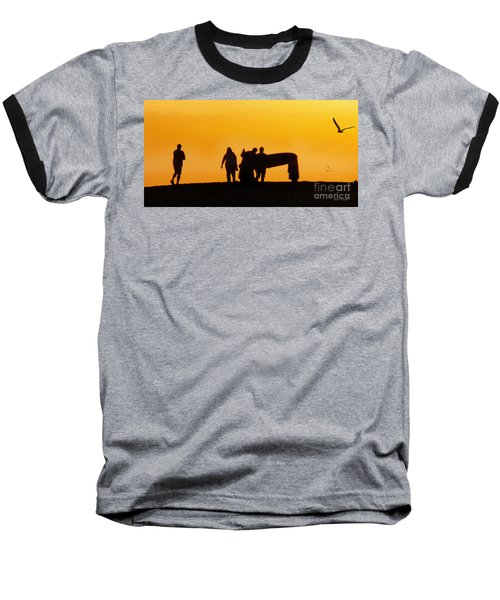 The Golden Hour Baseball T-Shirt