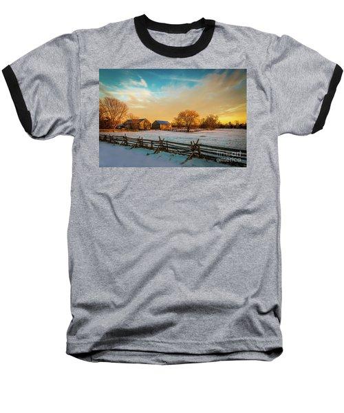 Golden Hour Baseball T-Shirt