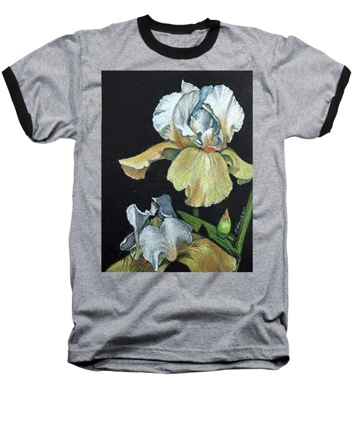 Golden Iris Baseball T-Shirt