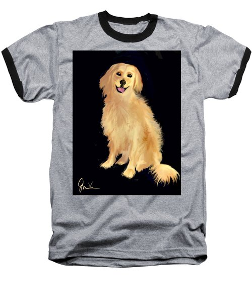 Golden Lab Baseball T-Shirt
