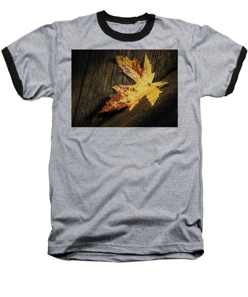 Golden Leaf Baseball T-Shirt