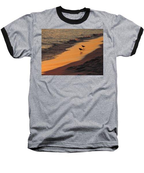 Golden Light At Sunset Baseball T-Shirt by Teresa Schomig