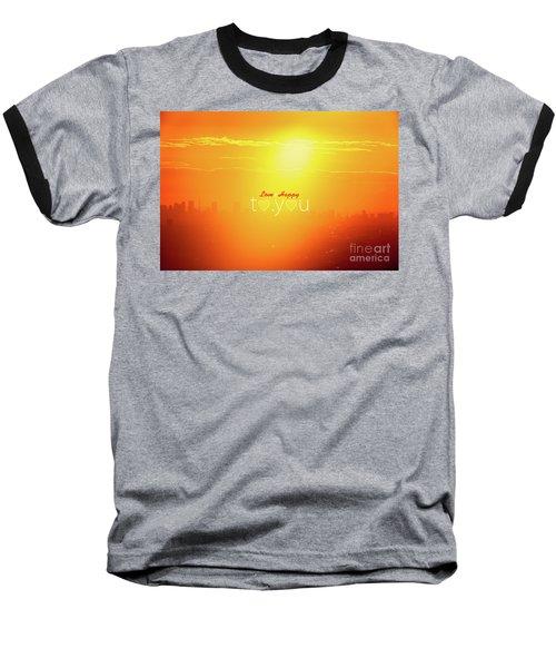 Baseball T-Shirt featuring the photograph To You #002 by Tatsuya Atarashi