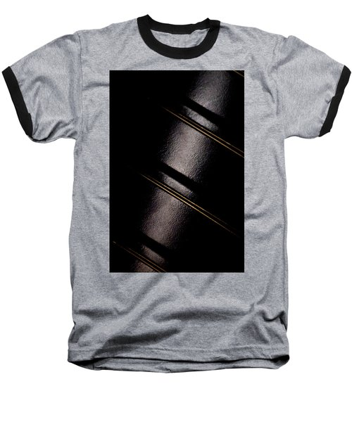Baseball T-Shirt featuring the photograph Golden Line by Paul Job