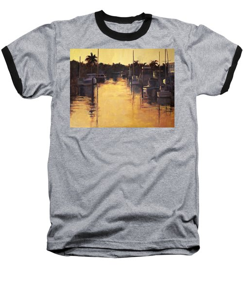 Golden Marina 1 Baseball T-Shirt