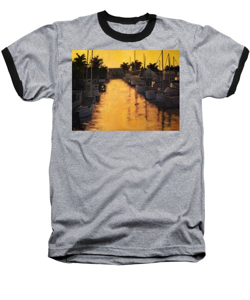 Golden Marina 2 Baseball T-Shirt