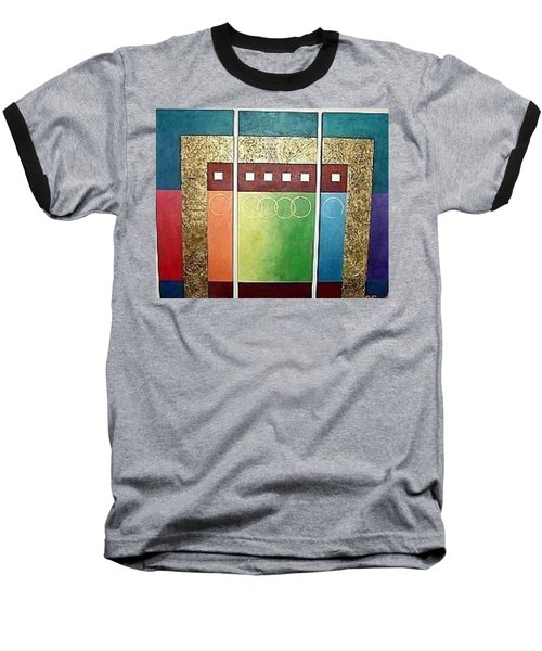 Golden Mesa Baseball T-Shirt by Bernard Goodman