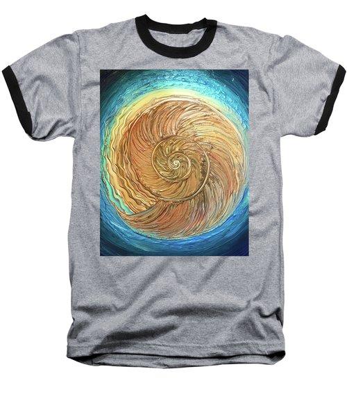 Golden Nautilus Baseball T-Shirt