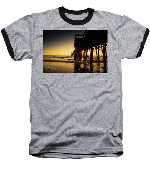 Golden Pier  Baseball T-Shirt