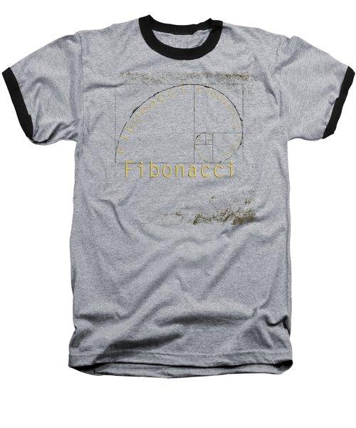 Golden Ratio Baseball T-Shirt by Paulette B Wright