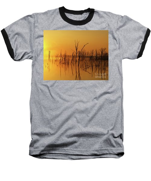 Golden Reflections Baseball T-Shirt