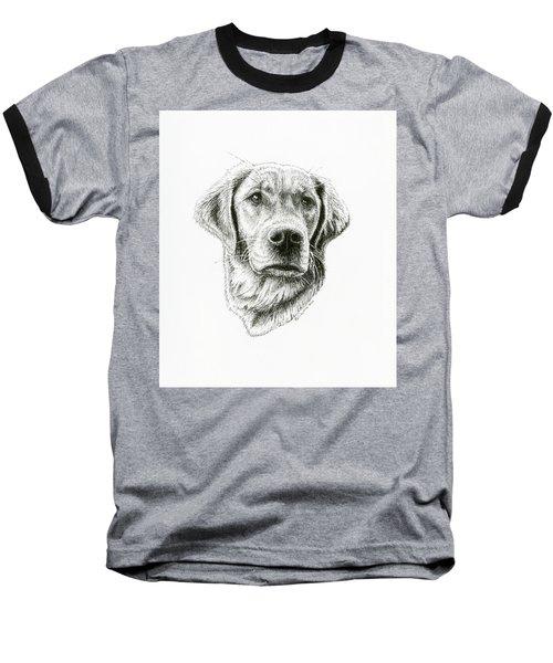 Golden Retriever Bliss Baseball T-Shirt
